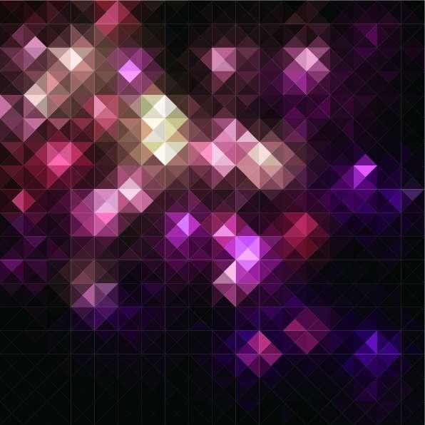 超清闪烁的马赛克背景图片素材