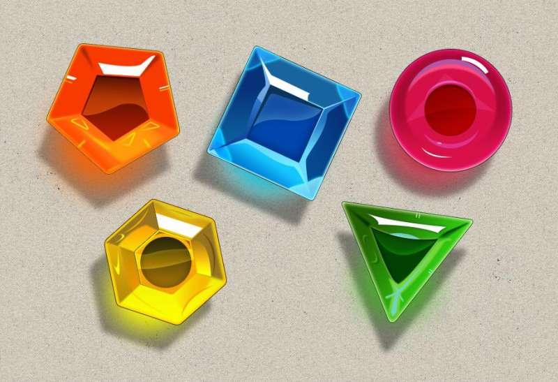 珠宝连连看游戏宝石icon图标素材