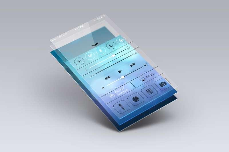 iphone手机IOS7系统界面UI素材下载