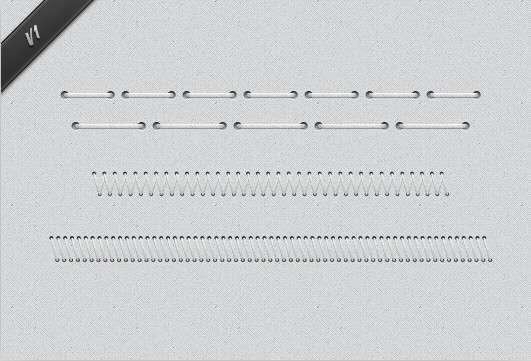 网页鞋带元素_网页缝线图片psd分层素材下载