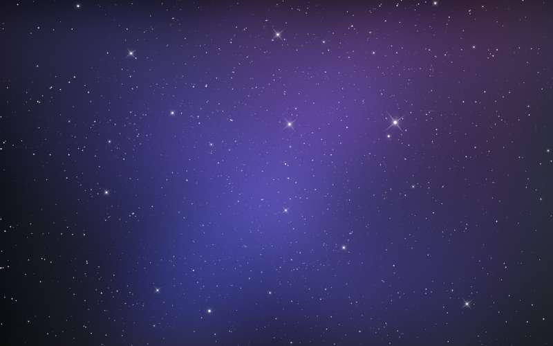 高清的夜空中漫天的繁星图片素材