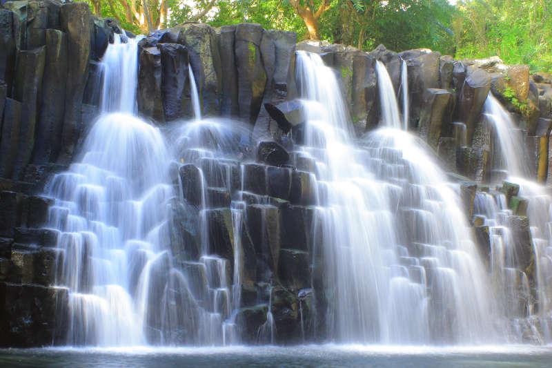 毛里求斯罗切斯特瀑布高清图片下载