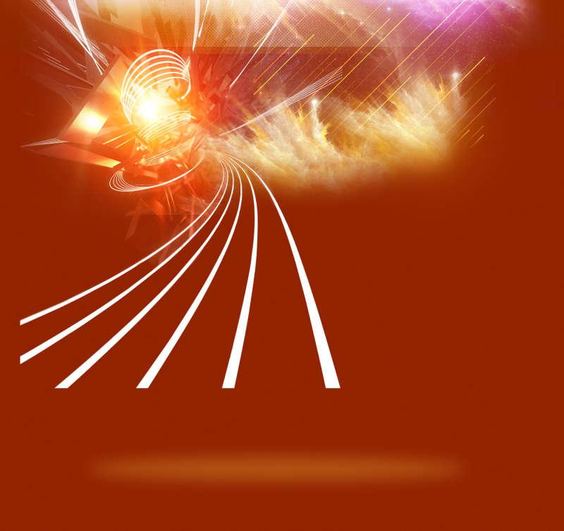 橙色绚丽背景图片_燃烧爆炸背景图片_橙色酷炫背景图片下载