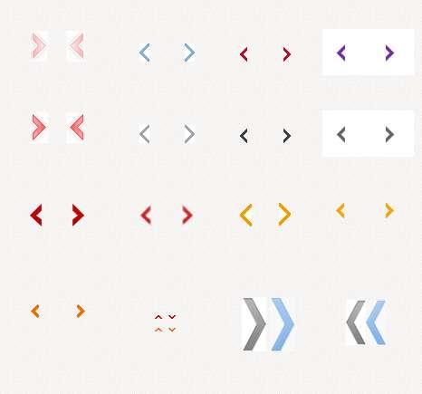 网页箭头图标按钮_向左箭头按钮_向右箭头按钮图标下载