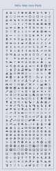 500个纯黑色的图标_黑色的工具图标psd下载