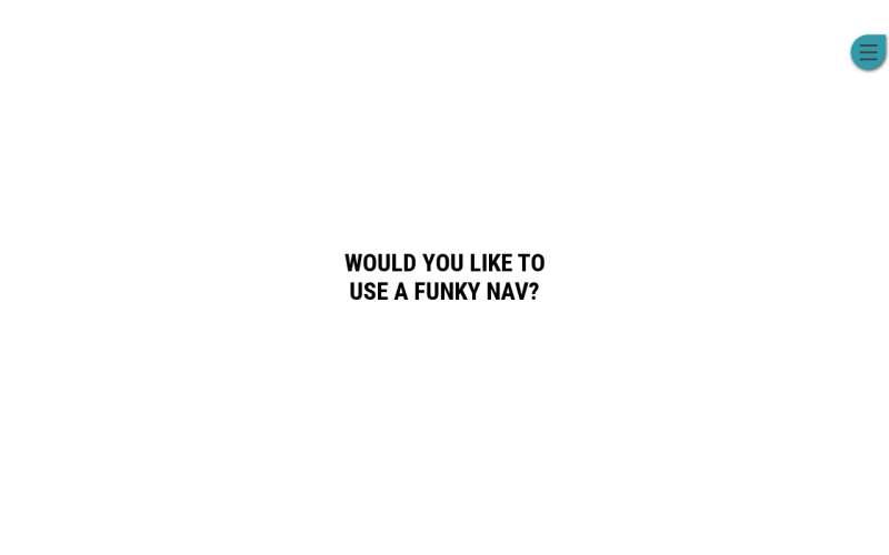 css3打开菜单3D倾斜页面特效