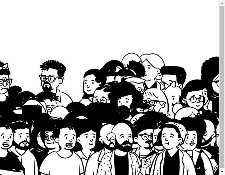 卡通的人群人物动画特效