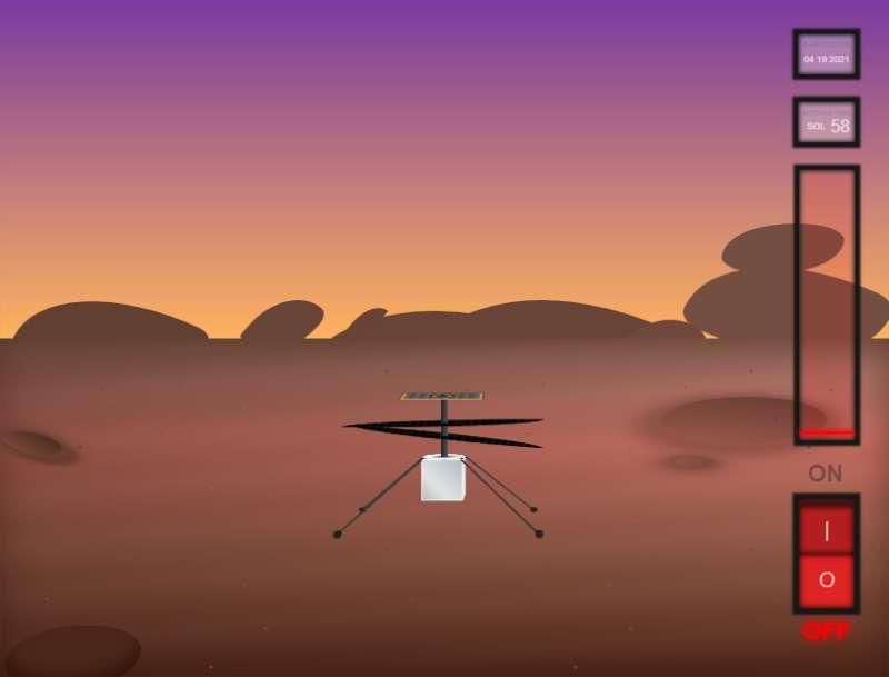3D直升飞机飞行调试场景特效
