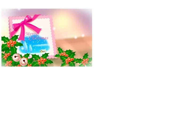 圣诞节新年贺卡flash动画
