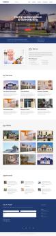 大气的房屋维修服务公司介绍页面模板