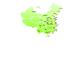 DIV+CSS布局样式制作中国地图地区分布
