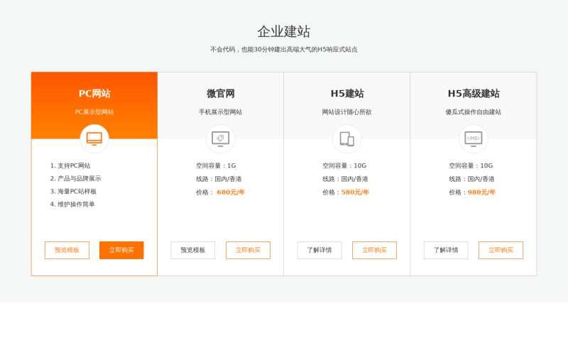 jQuery實用的企業建站產品網格布局代碼