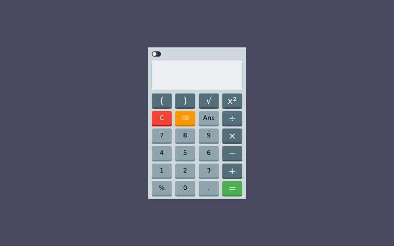 jquery两款切换的计算器样式代码