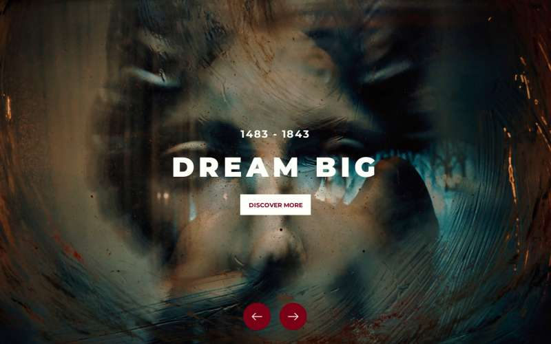 html5全屏3D旋转图片幻灯片