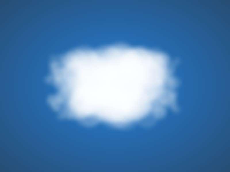 html5一坨白云动画特效