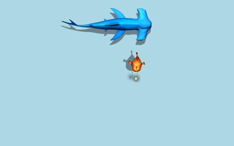 CSS3绘制游动的鱼代码