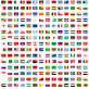 世界各国的国旗图标ai矢量素材下载